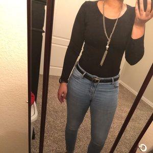 Black adult bodysuit